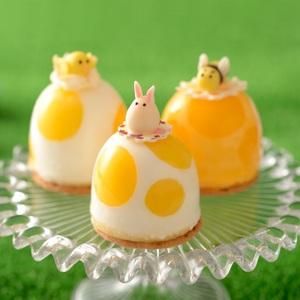 【春華堂】4/12はイースター!<br>卵のようなスイーツ数量限定販売!