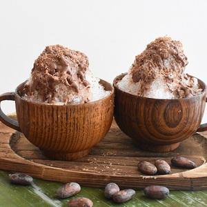 【cacao lab.】夏休み特別企画<br>「クレヨンチョコレート作り&エスニックかき氷体験」