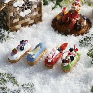 【春華堂】クリスマスプレゼントに<br>エクレールはいかが?<br>パティシエからの冬の贈り物