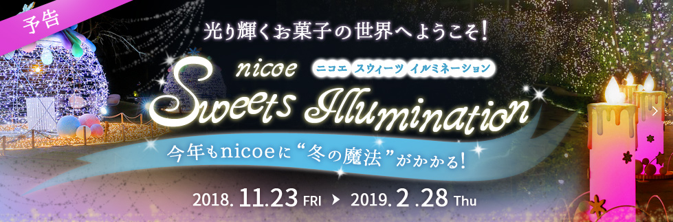 nicoe sweets illumination